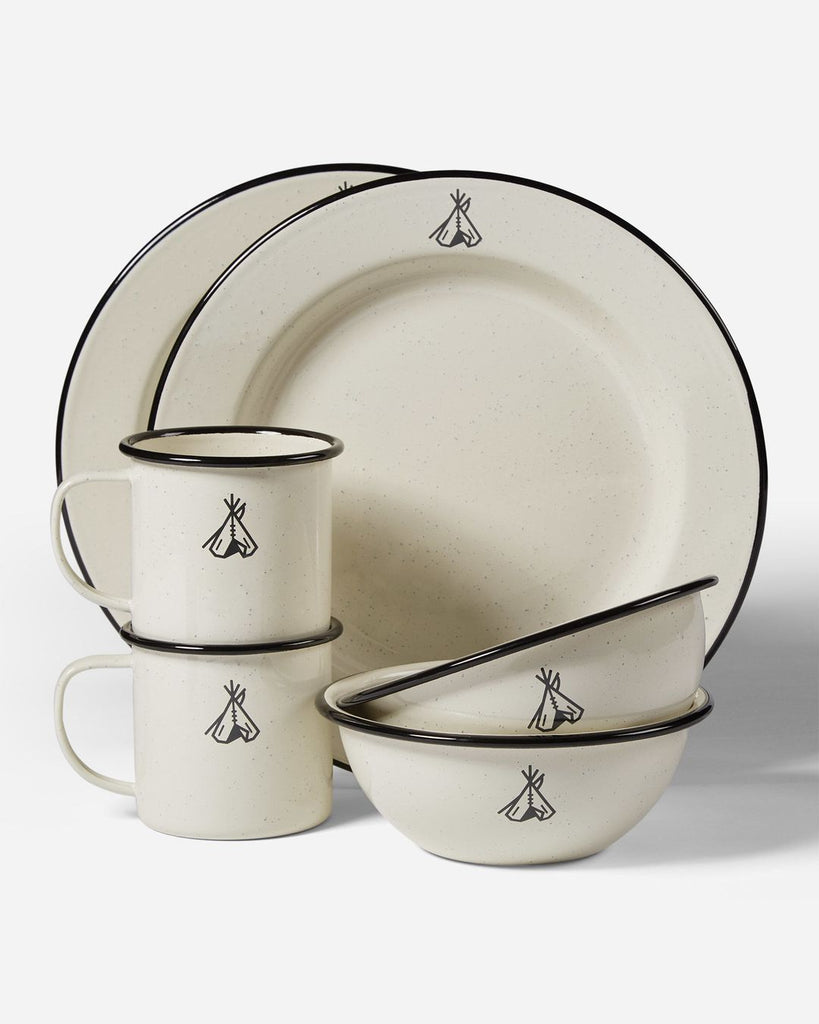 Camp Enamelware Set