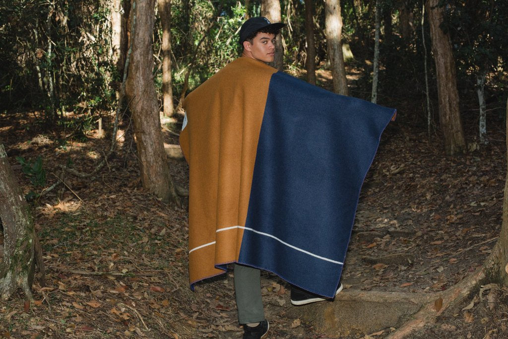 Ochre Road Army Blanket