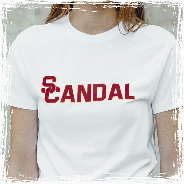 USC Admissions Scandal T-Shirt – White