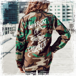 Spoiled Children Camouflage Jacket - Spoiled Threads