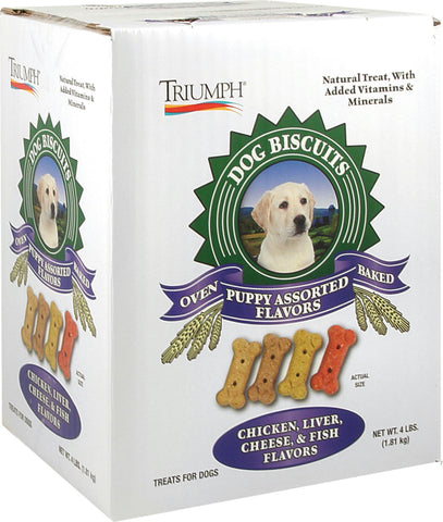 All Natural Puppy Biscuits