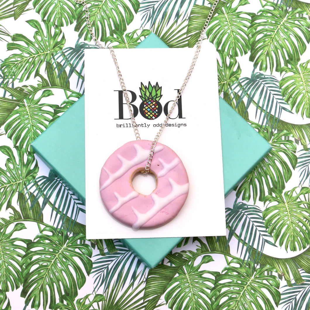 Pink Party Ring - Necklace