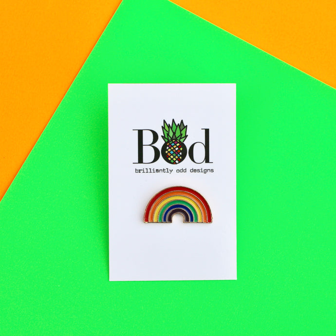 Rainbow - Pin Badge