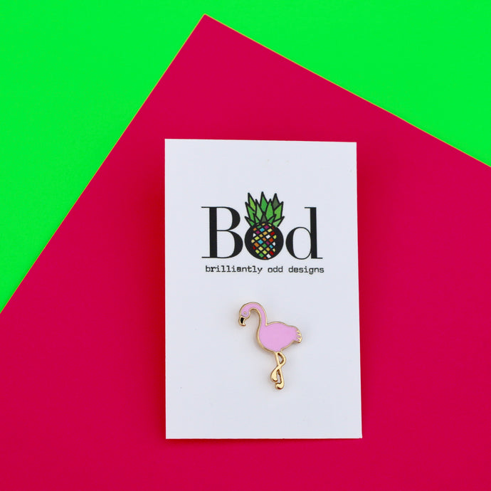 Flamingo - Pin Badge