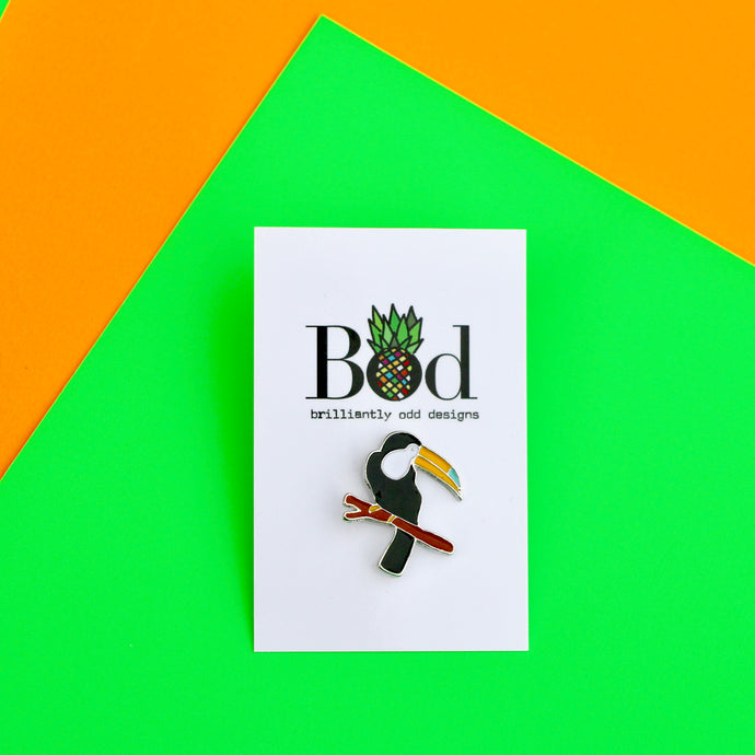 Toucan Pin Badge