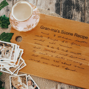 Family Recipe Chopping boards