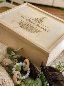 """Night Before"" Keepsake Box"