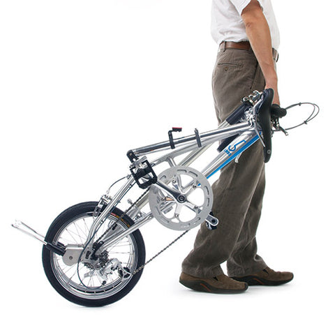 5Links Folding Bike 5LINKS2 169 SilverBlue