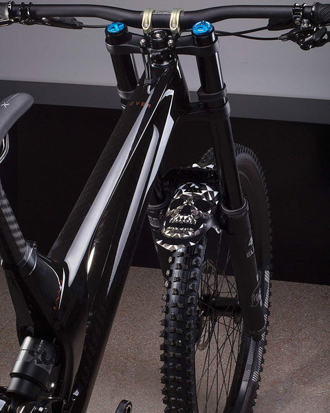 All Mountain Style MUDGUARD Front Fork MTB Mud Fender GOLD COUTURE