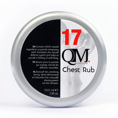 QM SPORTS CARE Chest Rub