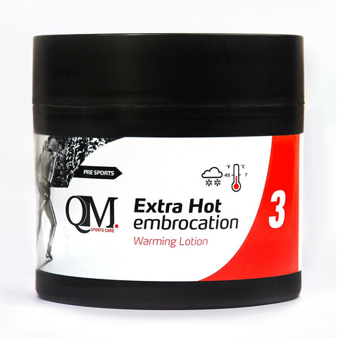 QM SPORTS CARE INFERNO EXTRA HOT EMBROCATION LOTION