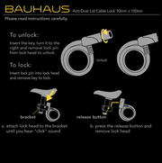 ULAC Bauhaus Cable Lock