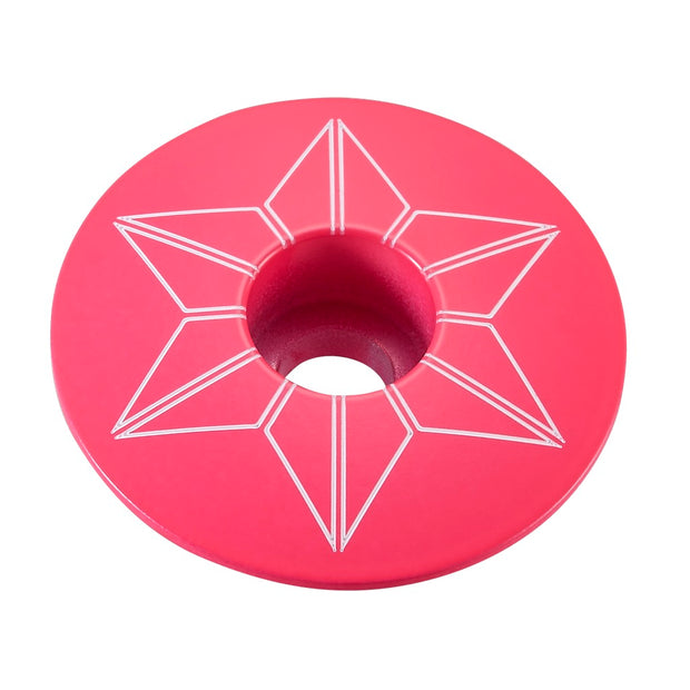 Supacaz Star Capz Anodized Top Bike Cap
