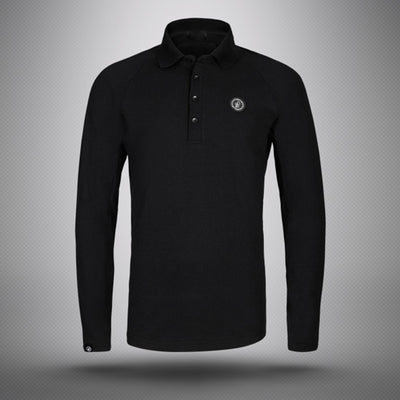 Lightweight Wollfuhlpause Long Sleeve Polo