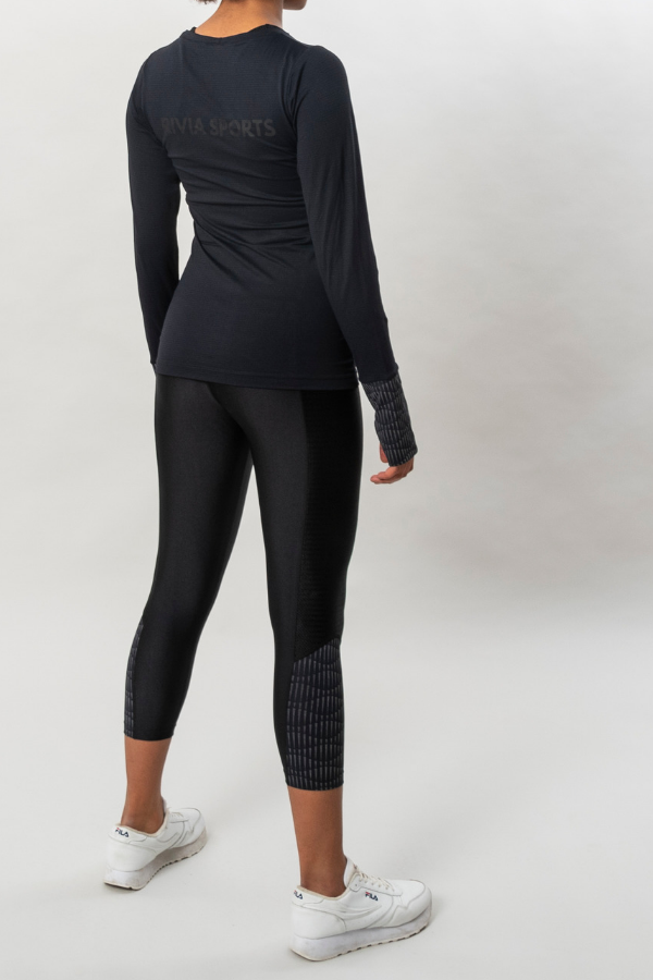 RIVIA SPORTS - Reflect Eco Longsleeve Svart