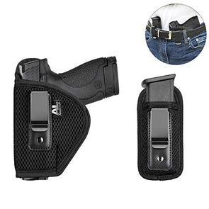 Apical LifeHolst Concealed Carry Holster Carry Inside or Outside The Waistband | Fits Subcompact to Large Handguns | Right and Left Hand Draw for Glock 17 to 39; Springfield XD/XDS/XDM (Right Hand)
