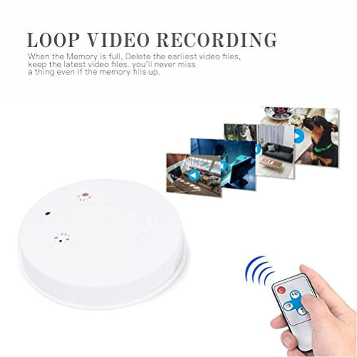 HD 1080P Spy Hidden Camera Motion Detector Nanny Cam Loop Video Recorder Mini DVR for Home Security