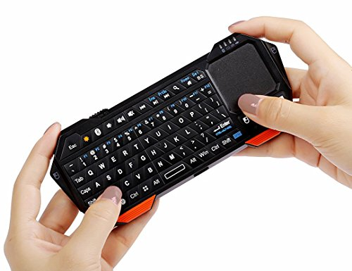 Wireless Portable mini Bluetooth Keyboard With Touchpad Mouse Backlit For Windows Tablets Android iOS