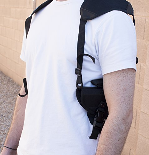 Best Concealed Carry Shoulder Holster - Works Great for 1911, Revolvers,  Pistols, Hand Guns - Universal Fit for Glock, Springfield, Taurus, MTAC,