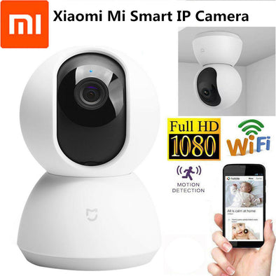 Xiaomi Mijia Smart Camcorder 1080P WiFi Pan Tilt Security Camera Night Webcam 360Angle Wireless Mute Motor IP Camera Wifi Camera