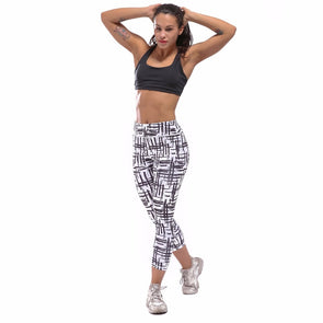 Chastep Quick Dry Polyester and Spandex Materials Suitable for Summer Yoga Sport Running Gymnastics Activities Trousers Pants