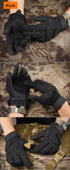 Men's Tactical Paintball Mittens Military Gloves