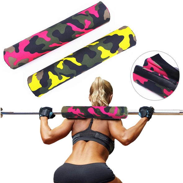 Weight Lifting Fitness Barbell Squat Pad Thick Heavy Duty Foam Support Neck Shoulder Protective Pad Gym Body Building Equipment