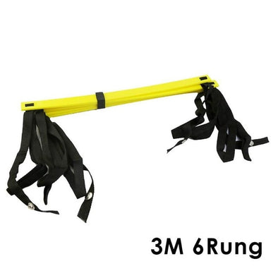 6/7/8/12/14 Rung Nylon Straps Training Ladders Agility Speed Ladder Stairs for Soccer Football Speed Ladder Fitness Equipment