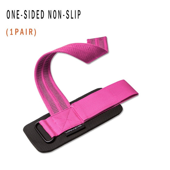 Gym Weight Lifting Strap Wrist Band Two Side Non Slip Booster Deadlift Squat Weightlifting Fitness Sport Brace Pad