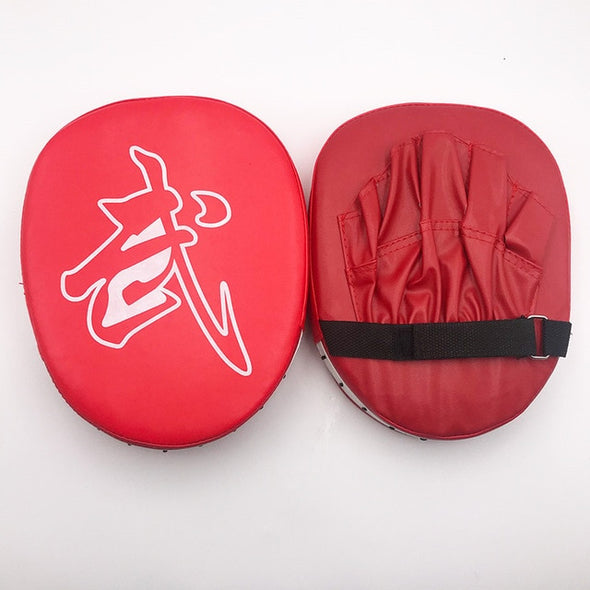 1 pcs Punching Bag Boxing Pad Sand Bag Fitness Taekwondo MMA Kicking Punching Pad PU Leather Training Gear Muay Thai Foot Target