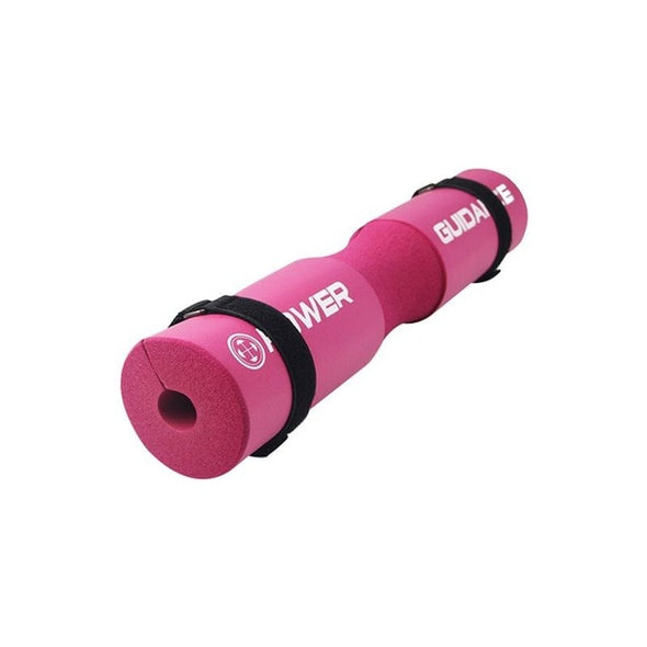 Foam Barbell Pad Cover For Gym Weightlifting Cushioned Squat Shoulder Back Support Neck Shoulder Protective Pad Black Pink