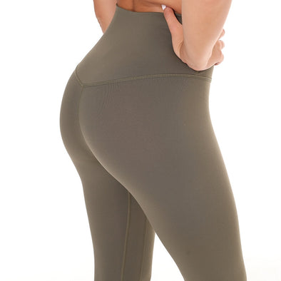 Explosive Pants Autumn Yoga Female Hip Lift Sports Clothes Skinny Tight Waist Nine Feet Pants.