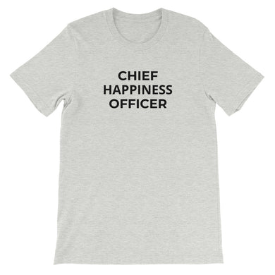 CHIEF ... OFFICER customizable t-shirt (unisex)