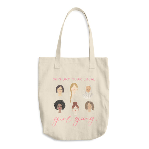 Support Your Local Girl Gang Tote Bag - Amy Zhang x Coding Blonde