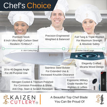 Load image into Gallery viewer, Kaizen Cutlery Chef Knife