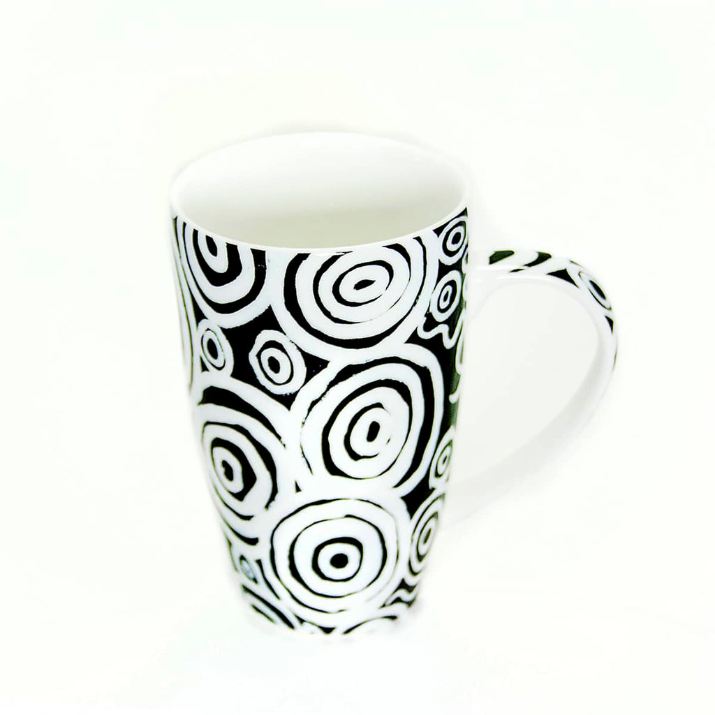 Bone China Mug - Nelly Patterson