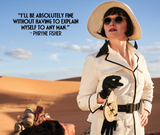 Miss Fisher and the Crypt of Tears Desert Navigation Lens Cloth Phryne Fisher
