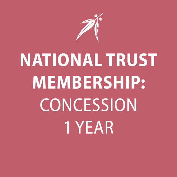 National Trust Membership 1 year CONCESSION