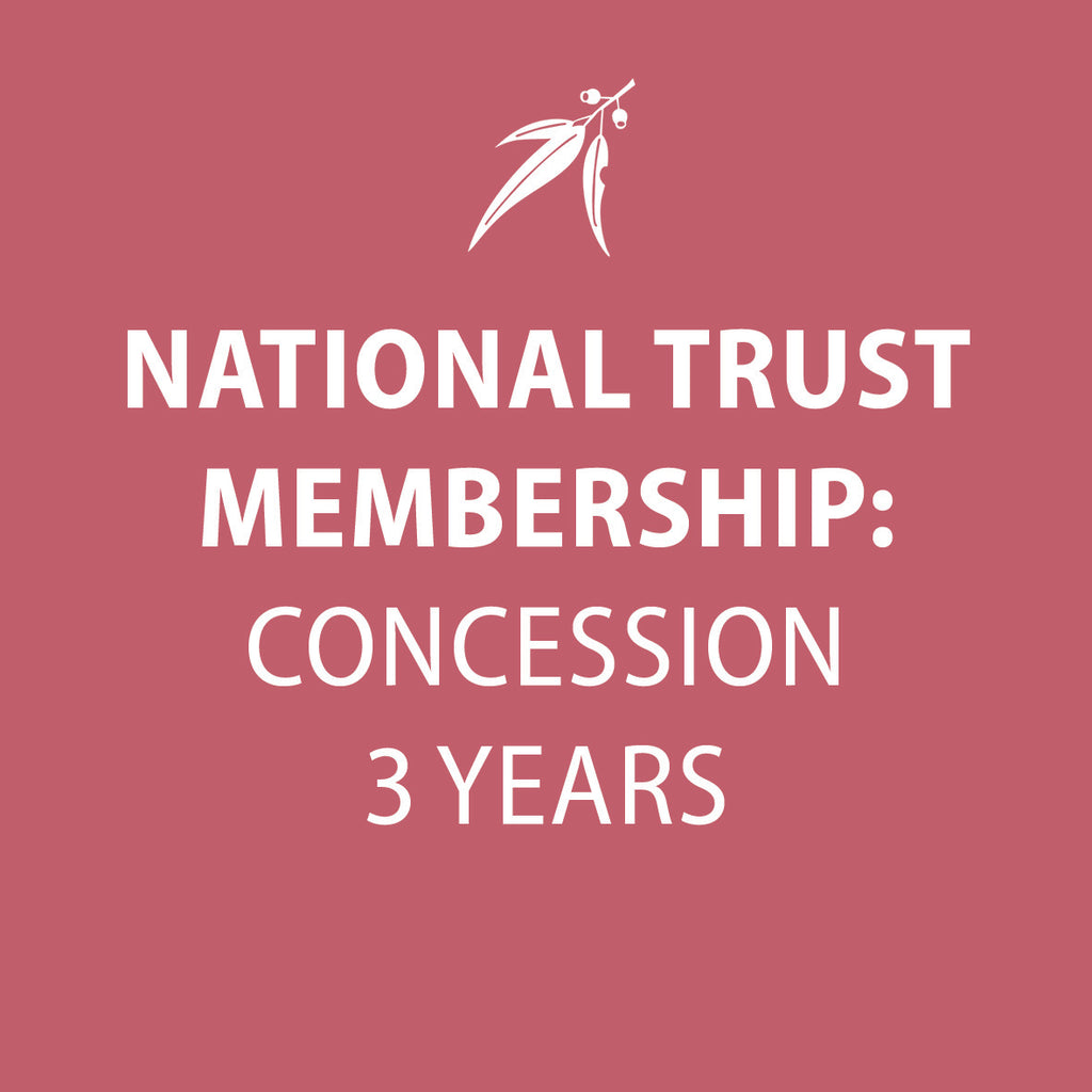 National Trust Membership 3 Years CONCESSION INDIVIDUAL