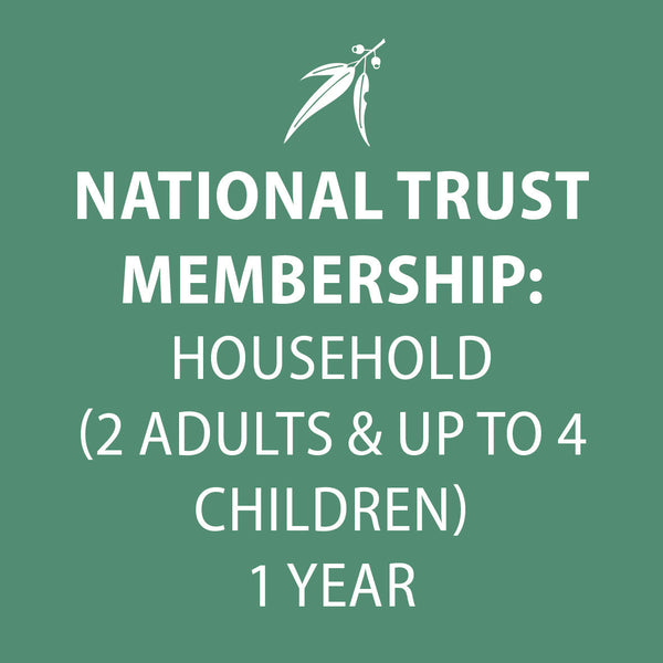 National Trust membership HOUSEHOLD 1 year (2 adults & up to 4 children)