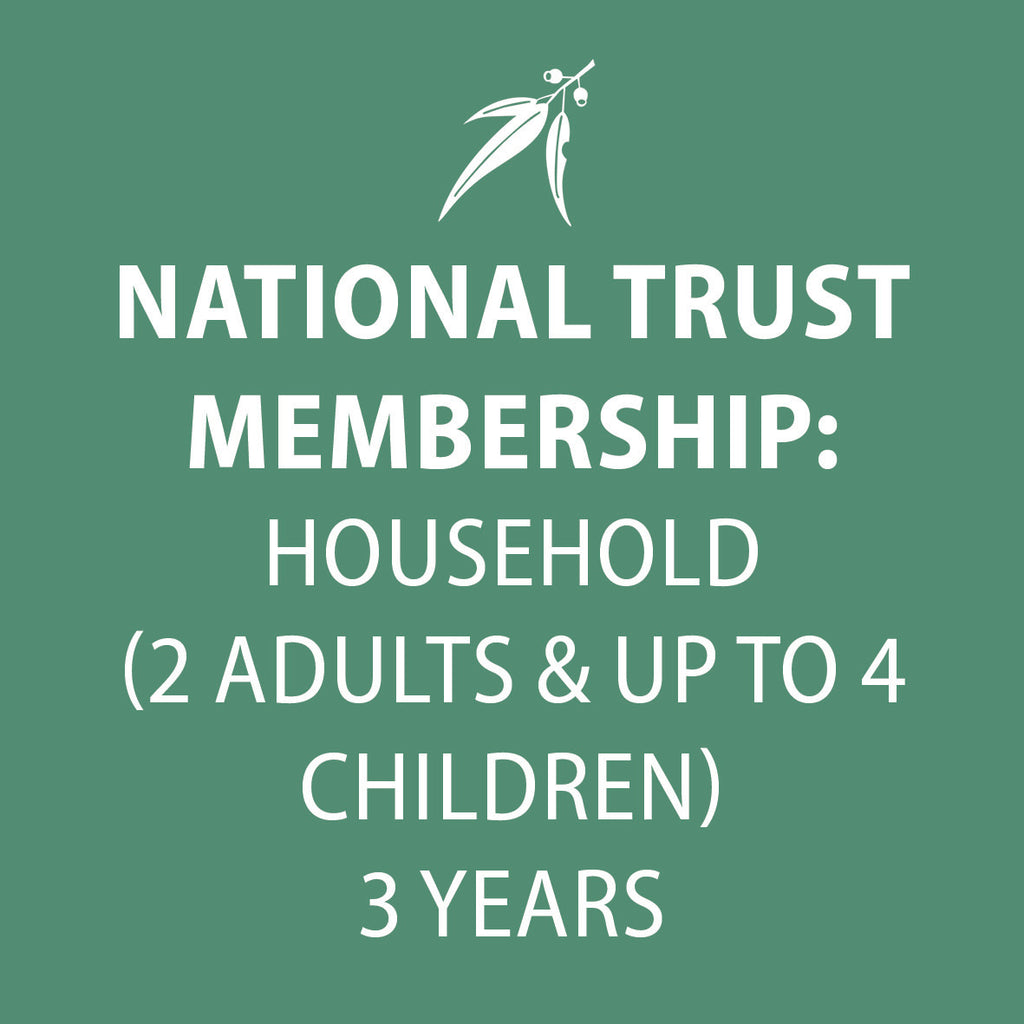 National Trust Membership 3 Years HOUSEHOLD (2 adults & up to 4 children)