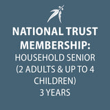 National Trust Membership 3 Years SENIOR HOUSEHOLD (60+ with valid card)