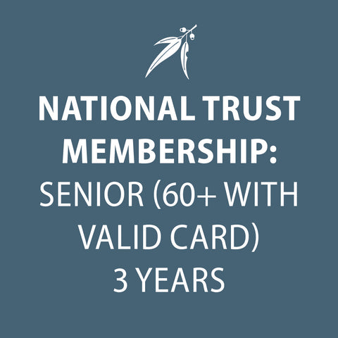 National Trust Membership 3 Years SENIOR (60+ with valid card)