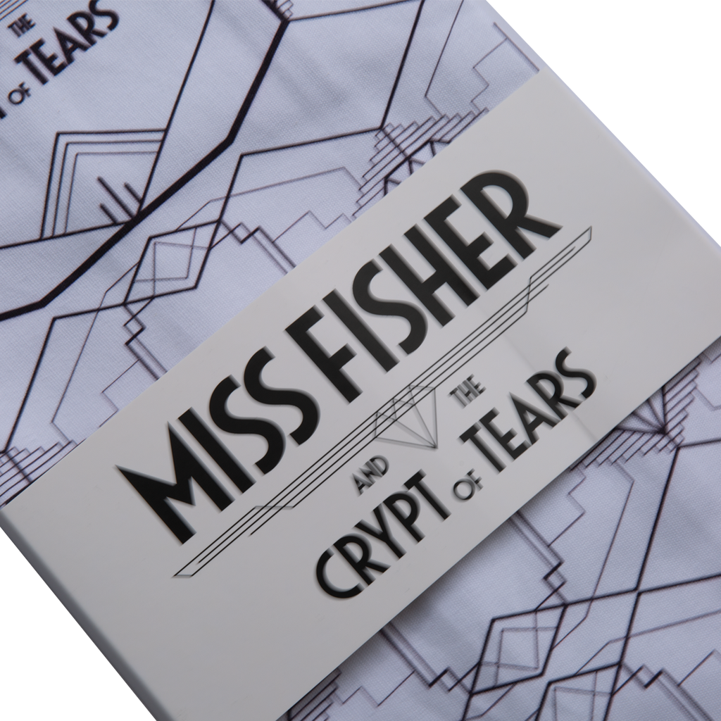 Miss Fisher and the Crypt of Tears White Tea Towel