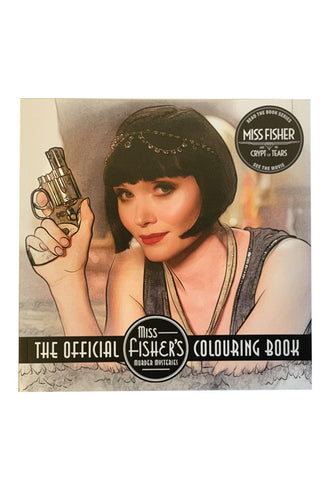 Official Miss Fisher Murder Mysteries Colouring Book