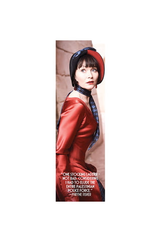 Miss Fisher and the Crypt of Tears Red Dress Bookmark