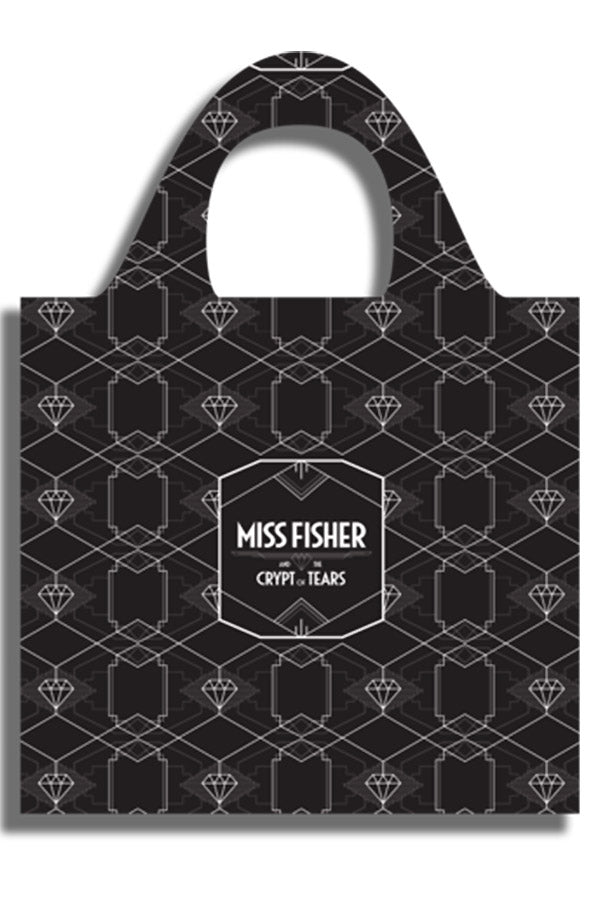 ECO Shopping Bag - Black - Miss Fisher and the Crypt of Tears