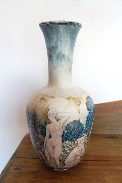 "Norman Lindsay ""Garden"" Reproduction Vase"