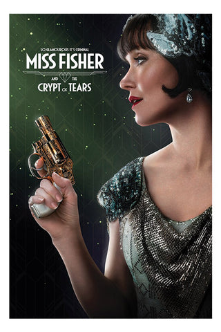 Miss Fisher and the Crypt of Tears Jotter Pad Miss Fisher So Glamourous