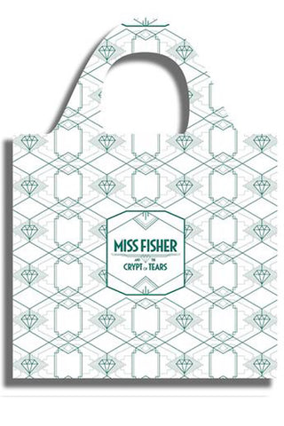 Eco Shopping Bag - White - MISS FISHER AND THE CRYPT OF TEARS